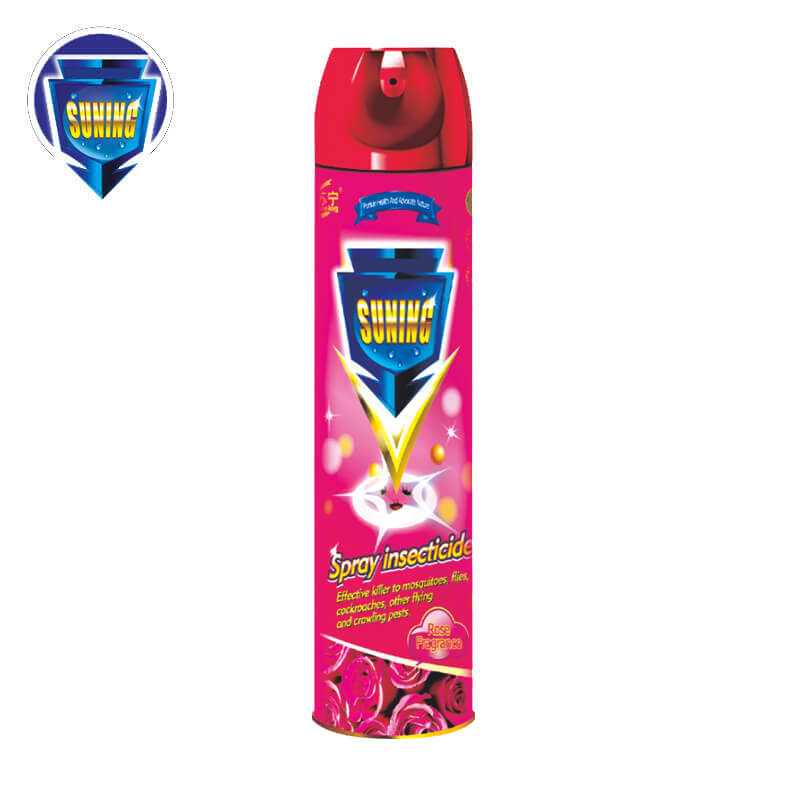 Insecticide Spray Rose